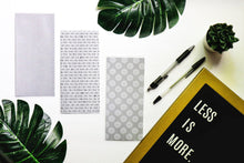 Load image into Gallery viewer, Cash Envelopes | Sinking Fund Envelopes | Laminated |Set of 9 | Dave Ramsey Budget Inspired - Midnight Chic 3