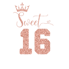 Load image into Gallery viewer, Sweet 16 Birthday Shirt - Sweet Sixteen Crown - T-Shirt - Healthy Wealthy Skinny
