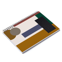 Load image into Gallery viewer, HWS Urban Square Spiral Notebook - Ruled Line
