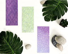 Load image into Gallery viewer, Cash Envelopes | Sinking Fund Envelopes | Laminated |Set of 9 | Dave Ramsey Budget Inspired - Purple Mermaid - Healthy Wealthy Skinny