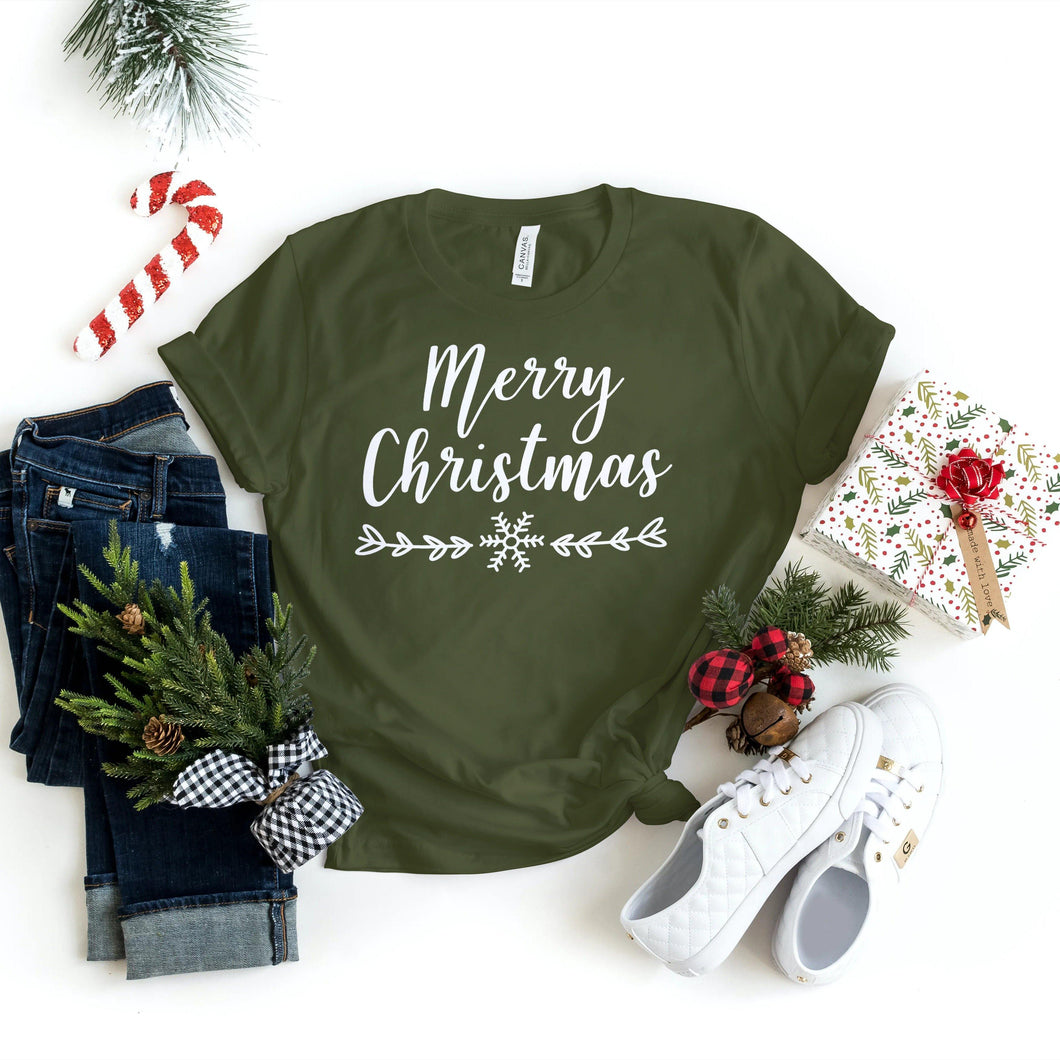 Christmas Shirts - Merry Christmas - Holiday Shirts - Gifts - Healthy Wealthy Skinny