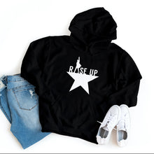 Load image into Gallery viewer, Hamilton - Rise Up - Hoodie - Healthy Wealthy Skinny