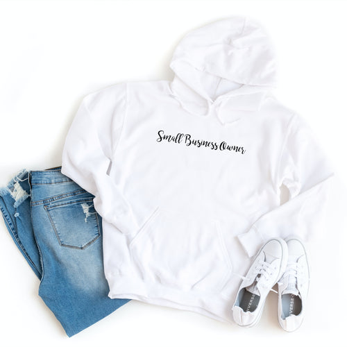 Small Business Owner Minimalist - Hoodie
