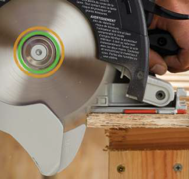 Carpentry Saw Integrated Riving Knife