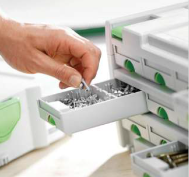 Systainer Flexible Drawers and Compartments
