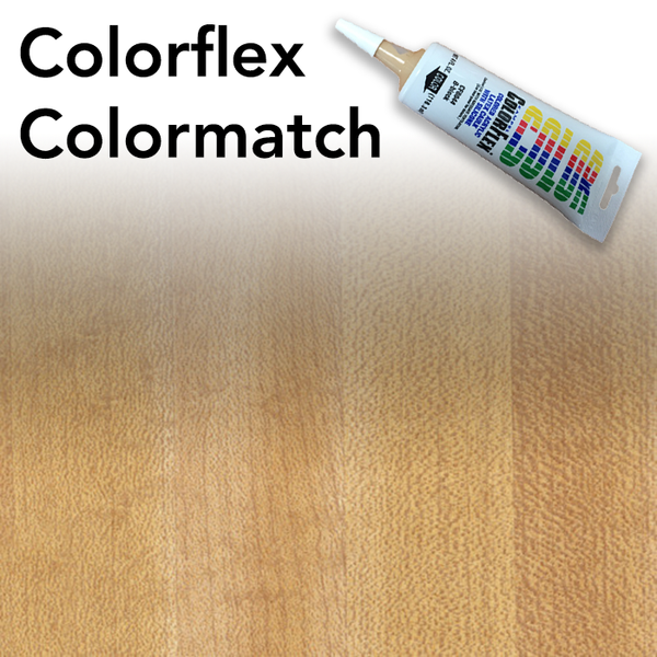 Colorflex Butcherblock Maple Laminate Caulking