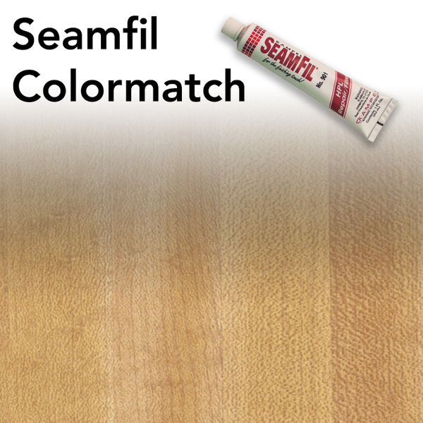Seamfil Butcherblock Maple Laminate Repair