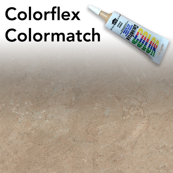 Colorflex Mocha Travertine Laminate Caulking