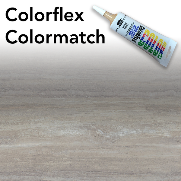 Colorflex Travertine Silver Laminate Caulking