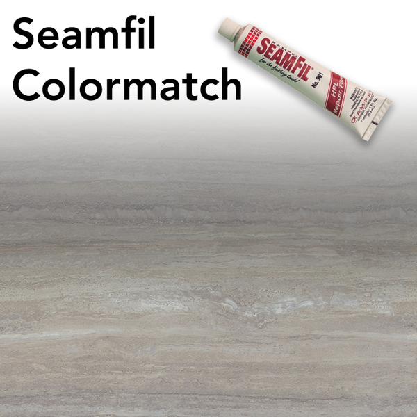 Seamfil Travertine Silver Laminate Repair