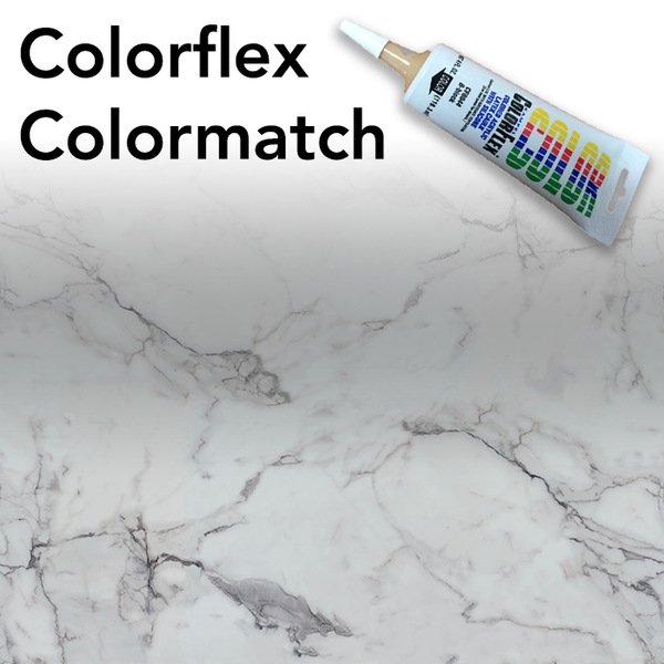 Colorflex Calacatta Marble Laminate Caulking
