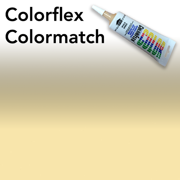 Colorflex Pale Gold Laminate Caulking