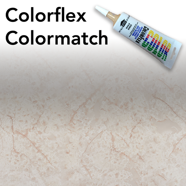 Colorflex White Onyx Laminate Caulking