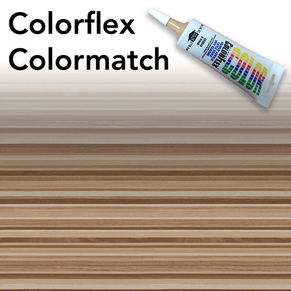 Colorflex Natural Ribbonwood Laminate Caulking