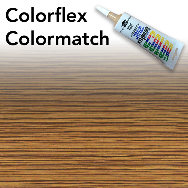 Colorflex Zebrano Laminate Caulking
