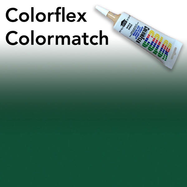 Colorflex Hunter Green Laminate Caulking