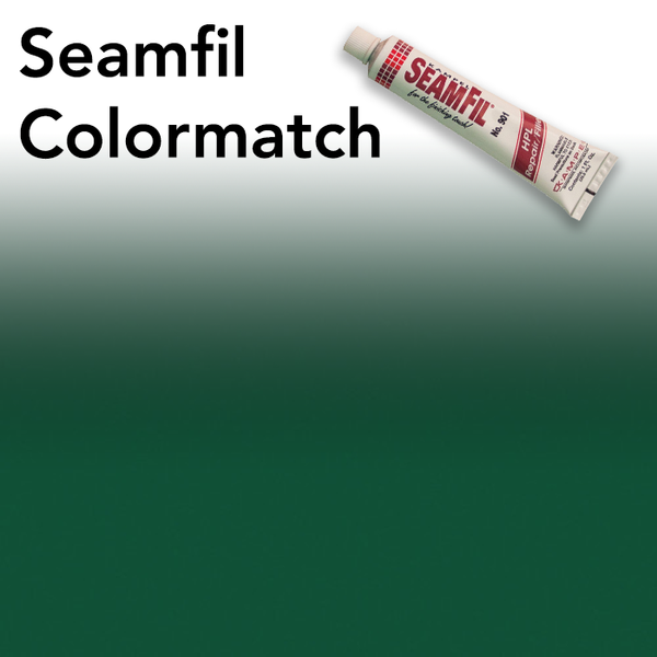 Seamfil Hunter Green Laminate Repair