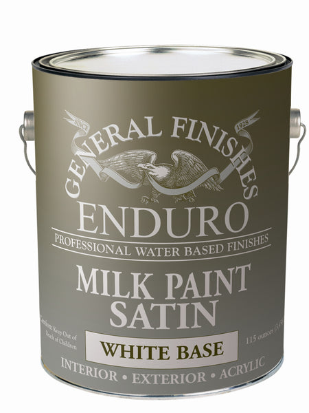 General Finishes Water Based White Base Milk Paint, Specialty Coatings
