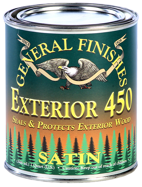 General Finishes Exterior 450 Water Based Top Coat