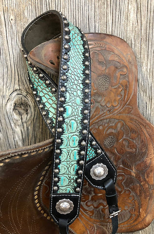 Turquoise Camera Strap