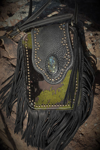Crazy Horse Bag - Army Green Acid Washed