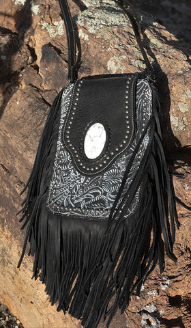 Crazy Horse Bag - Black/White