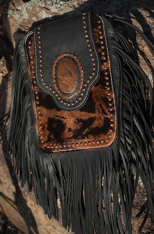 Crazy Horse Bag - Copper Hair