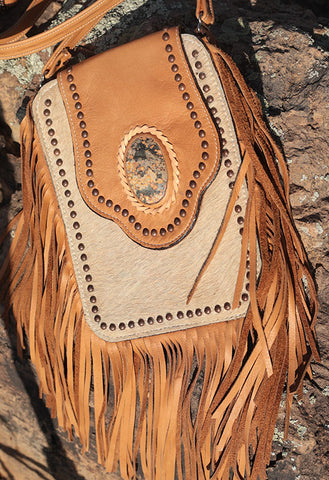 Crazy Horse Bag - Palomino Hair
