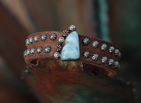 Larimar with Accents Cuff