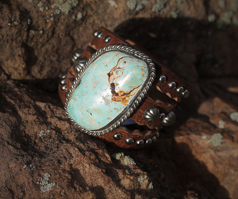 Old American Turquoise Cuff