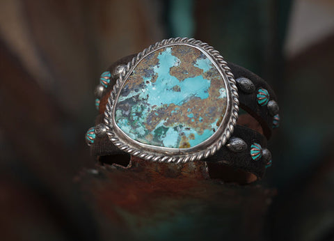 Old Estate Turquoise Cuff