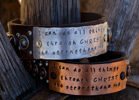 I can do all Things Scripture Bracelet