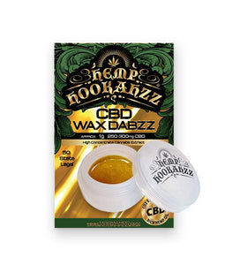 Hemp Wax Dabs Concentrate Full Spectrum