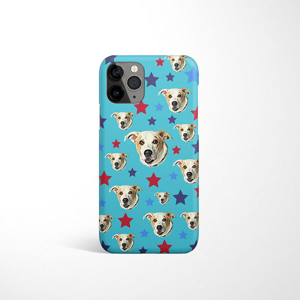 Custom Pet Phone Case with Stars
