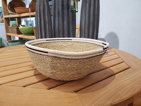 Kali Basket In White