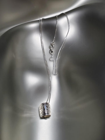 Sterling Silver 'Sun' Small Spirit Bead Necklace