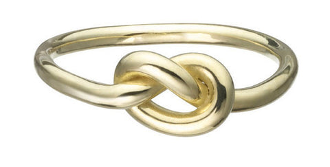 18K Gold Love Knot Ring