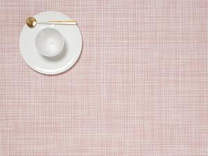 MIni Basketweave Placemat in Blush