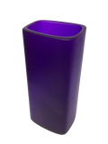 Resin Neon Purple Keats Free Form Vase