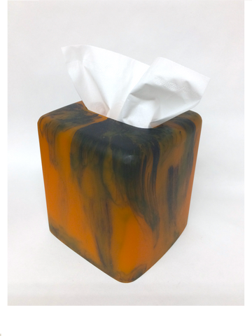 Resin Tortoise Tissue Box