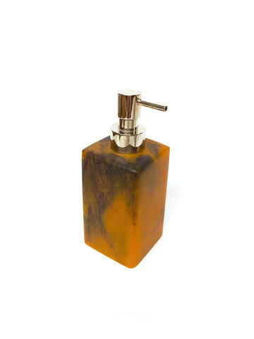 Resin Tortoise Soap Dispenser