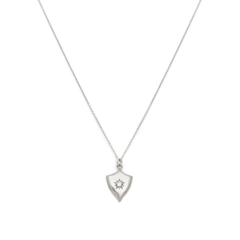 Armour - Sterling Silver CZ Necklace