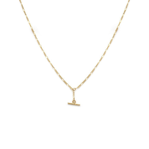 Albert Mini - Gold Fill Necklace