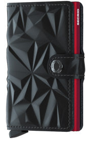 Prism Black-Red Miniwallet