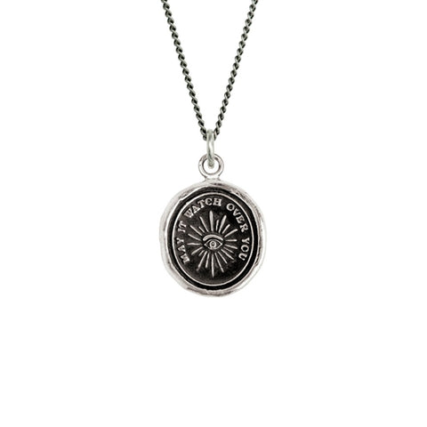 Sterling Silver Higher Power Talisman Necklace