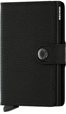 Crisple Black Mini Wallet