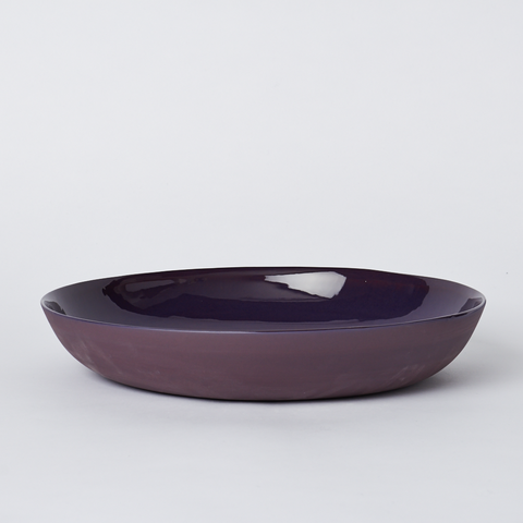 Pebble Bowl Large Plum