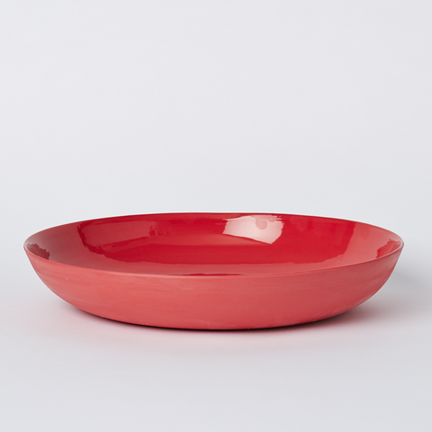 Pebble Bowl Large Red
