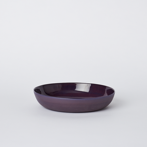 Pebble Bowl Medium Plum