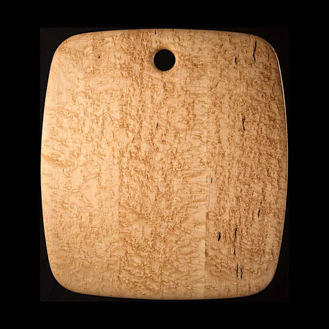 "#12 - 20"" x 22"" Bird's-eye Maple Cutting Board"